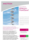 Ahlstrom Flow2Save - Improve Indoor Air Quality (IAQ) Brochure