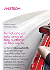 Ahlstrom DuraLube 3S For Automotive Oil Filtration Brochure