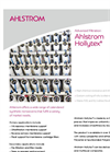 Ahlstrom Hollytex - For Water Filtration Brochure