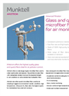 Ahlstrom Glass Microfiber for Air Monitoring Brochure