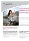 Ahlstrom Glass Microfiber for Water Brochure