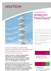 Ahlstrom Flow2Save High Efficiency Air (HEA) Filtration Brochure
