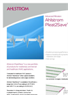 Ahlstrom Pleat2Save Filtration System Brochure