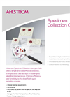 Specimen Collection Cards Brochure