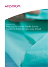 Ahlstrom SBS High Performance Sterile Barrier Brochure