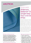 Ahlstrom Reliance Solo Single-Step Wrap System Brochure