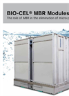 BIO-CEL Modules - The role of MBR in the elimination of micro-pollutants