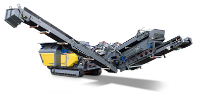 Rubble Master - Model RM 100GO! - mobile crusher