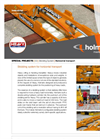 Special Project sheet - Holmatro Skidding System