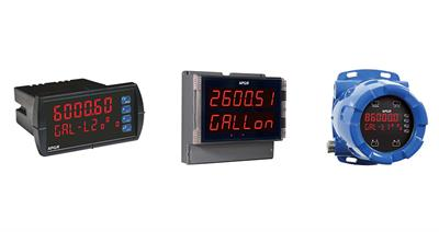 APG Introduces Three New Digital Panel Meters