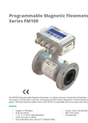 APG - Model Series FM100 - Programmable Magnetic Flowmeter Datasheet