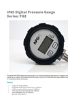 APG - Model Series PG2 - IP65 Digital Pressure Gauges Datasheet