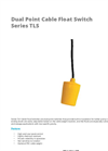APG - Model TLS - Dual Point Cable Suspended Float Switch - Datasheet