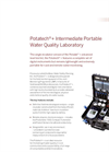 Potatech - PTW 10480 - Intermediate Portable Water Quality Laboratory Kits - Brochure