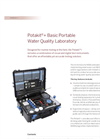 Potakit - PTW 10030 - Basic Portable Water Quality Laboratory Kits - Brochure