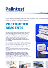 Palintest - Photometer Tablet Reagents - Brochure