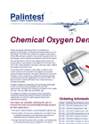 Tubetests - Reagents Including Chemical Oxygen Demand (COD) - Brochure