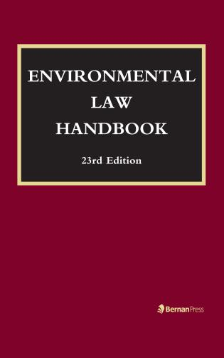 Environmental Law Handbook 23rd Edition