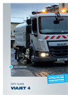 FAUN - Model VIAJET 4 - Compact Road Sweeper - Datasheet