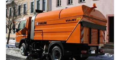 FAUN - Model VIAJET 4 - Compact Road Sweeper