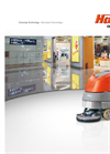 Scrubmaster - Model B30 and B45 - Hand-Operated Scrubber-Driers - Brochure