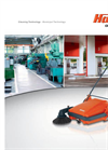 Sweepmaster - Model M600 - Compact, Manual Sweeping Machine - Brochure