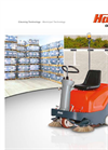 Sweepmaster – Model B800 R - Vacuum Sweeper Vehicles for Dust-Free Cleaning - Brochure