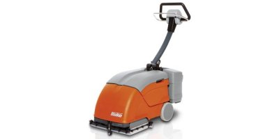 Hako - Model E10 and B10 - Walk Behind Scrubber Driers