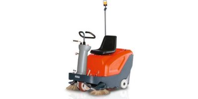 Sweepmaster - Model B800 R - Ride-On Sweeper Machine