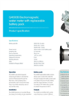 Model Q4000B - Electromagnetic Water Meter  - Brochure