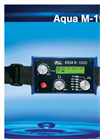 Aqua - Model M100 D - Geophone/Testrod to Detect and Locate Leakages Datasheet