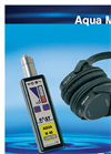 Aqua - Model M40 D - Electronic Listening Stick to Locate Leaks in Pipeline Systems Datasheet