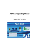 AZA-OAD - Version 1.0.4.7 and Higher - Operating Manual