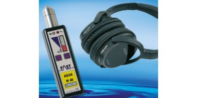 Aqua - Model M40 D - Electronic Listening Stick to Locate Leaks in Pipeline Systems