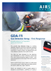 Airsense - Model GDA-FR - Gas Detector Array – First Response - Brochure
