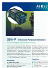 Airsense - Model GDA-P - Gas Detector Array – Personal - Brochure