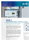 Airsense - Model GDA-S - Gas Detector Array - Stationary - Brochure