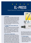Digital Electronic Pressure Meters- Controllers EL-PRESS Series