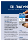 LIQUI-FLOW - Model mini series - Micro Fluidic Mass Flow Meters for liquids Brochure