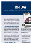 IN-FLOW - Model IN-FLOW Series - High-Flow Mass Flow Meters / Controllers for Gases Brochure