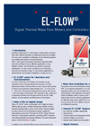 Model EL-FLOW and IN-FLOW Series - Digital GAS Mass Flow Meters & Controllers Brochure