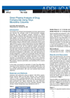 Applications Notes - Direct Plasma Analysis of Drug Compounds Using Onyx Monolithic Columns