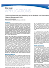 Applications Notes - Optimizing Sensitivity and Selectivity for the Analysis and Characterization of Synthetic Oligonucleotides via LC/MS