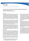 Applications Notes - Impact of pH on the Purity and Yield for Preparative Separations