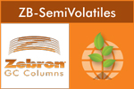 Zebron - Model ZB-SemiVolatiles - Meet EPA 8270D Requirements Out-of-the-Box