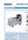 Excellent - Model 500A-BAS - Food Waste Disposers Modul System Brochure
