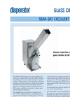 Model 550A-GKF - Glass Crusher Brochure