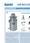 Excellent - Model 500A-ATF - Food Waste Disposers System Brochure