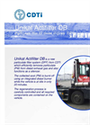 Unikat - Model Actifilter DB™ - Diesel Particulate Filter System - Brochure