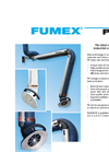Fumex - Model PR Series - Local Fume Extractor - Datasheet